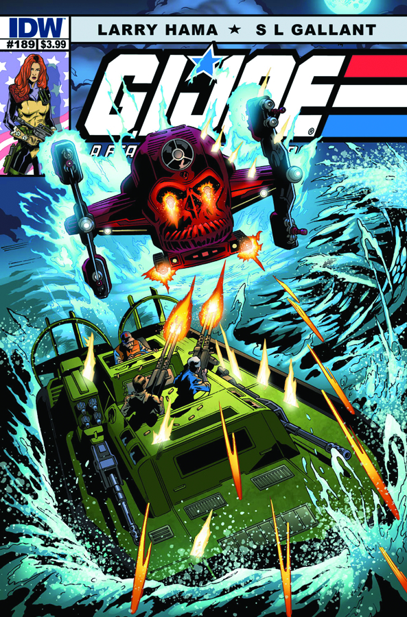GI JOE A REAL AMERICAN HERO #189