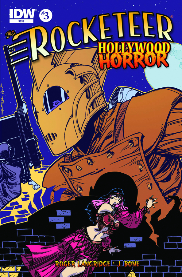ROCKETEER HOLLYWOOD HORROR #3