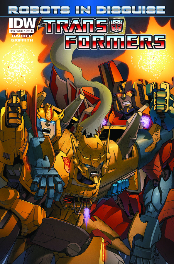 TRANSFORMERS ROBOTS IN DISGUISE #16