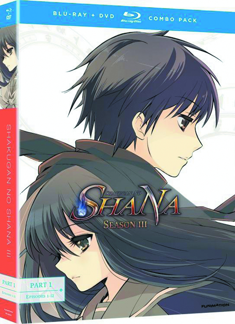 SHAKUGAN NO SHANA BD + DVD SEA 03 PT 1 LTD ED