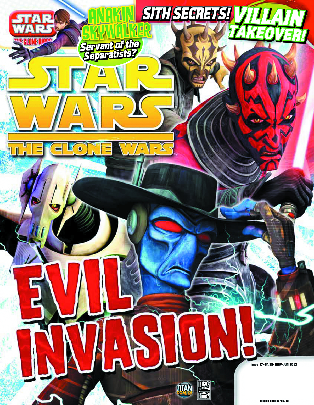 STAR WARS CLONE WARS MAGAZINE #17
