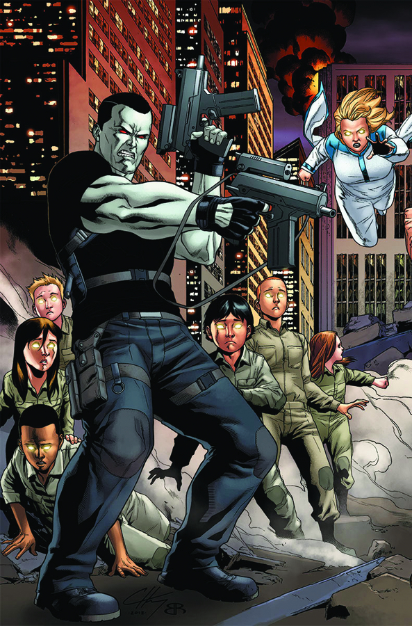 BLOODSHOT #10 HARBINGER WARS