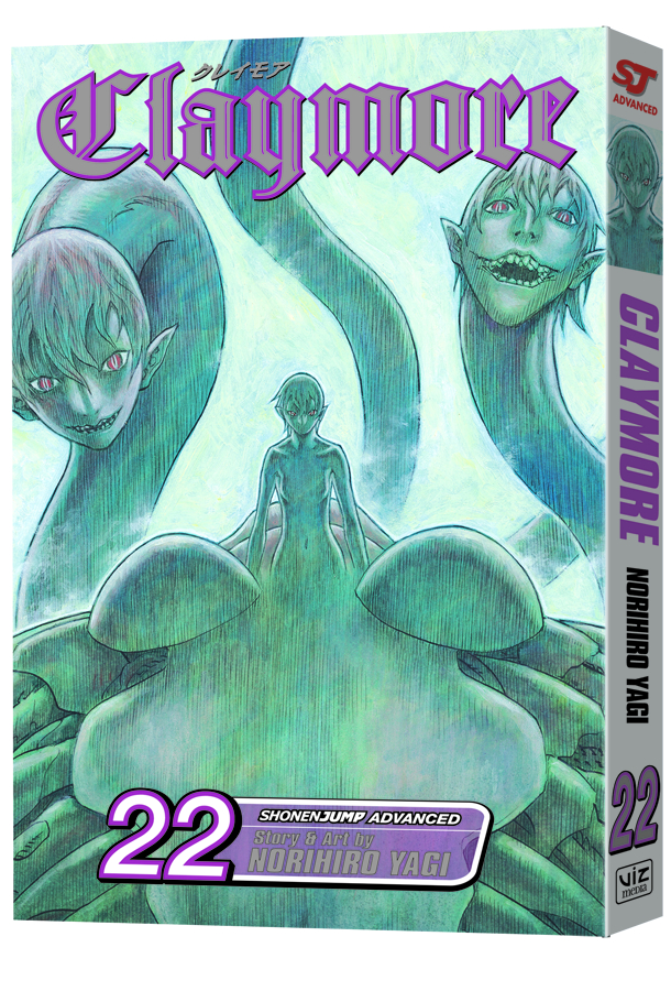CLAYMORE GN VOL 22