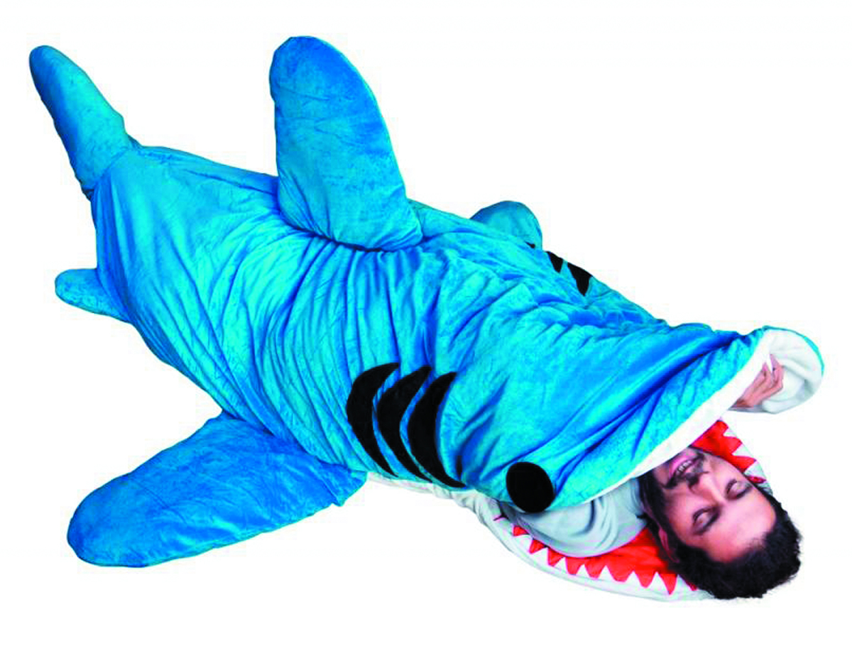 CHUMBUDDY III SHARK SLEEPING BAG ADULT VER