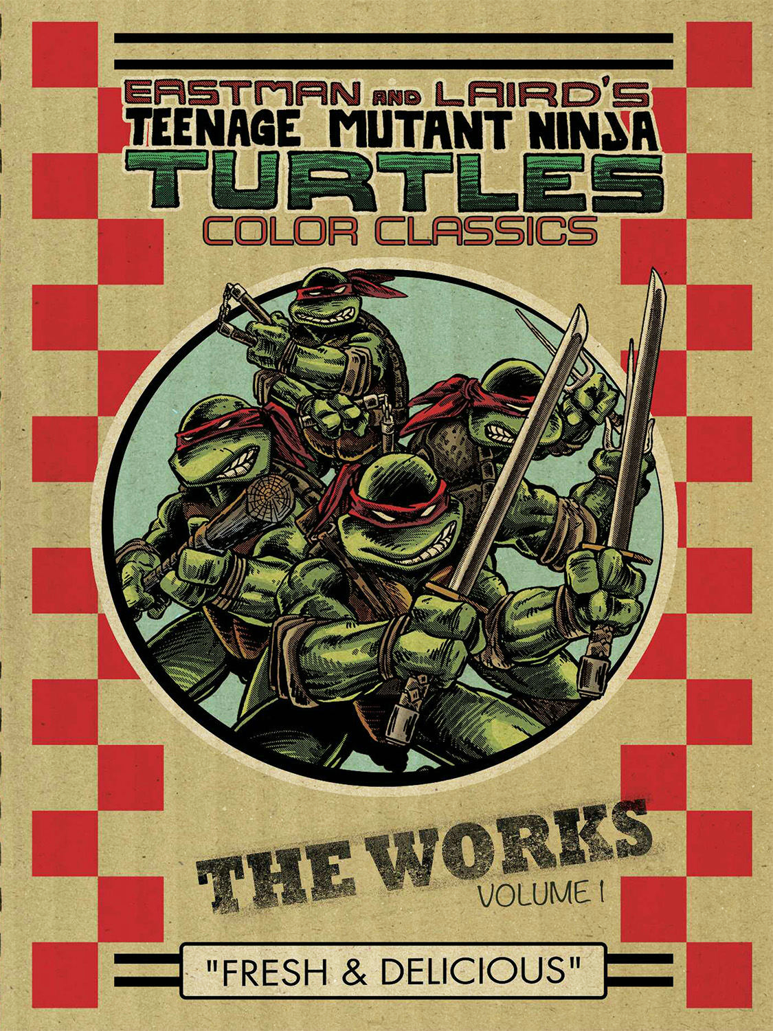 TMNT COLOR CLASSICS WORKS HC VOL 01