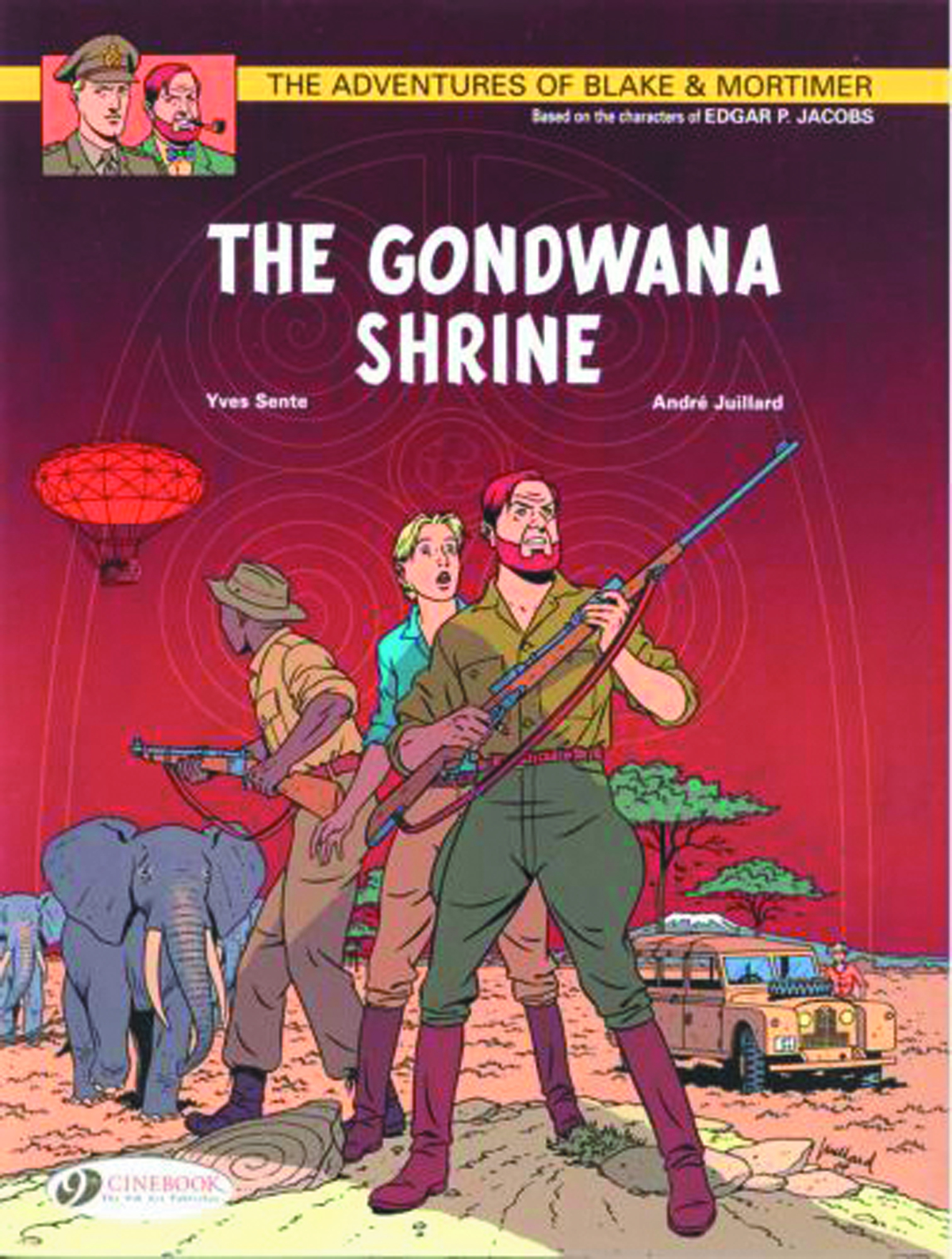 BLAKE & MORTIMER GN VOL 11 GONDWANA SHRINE