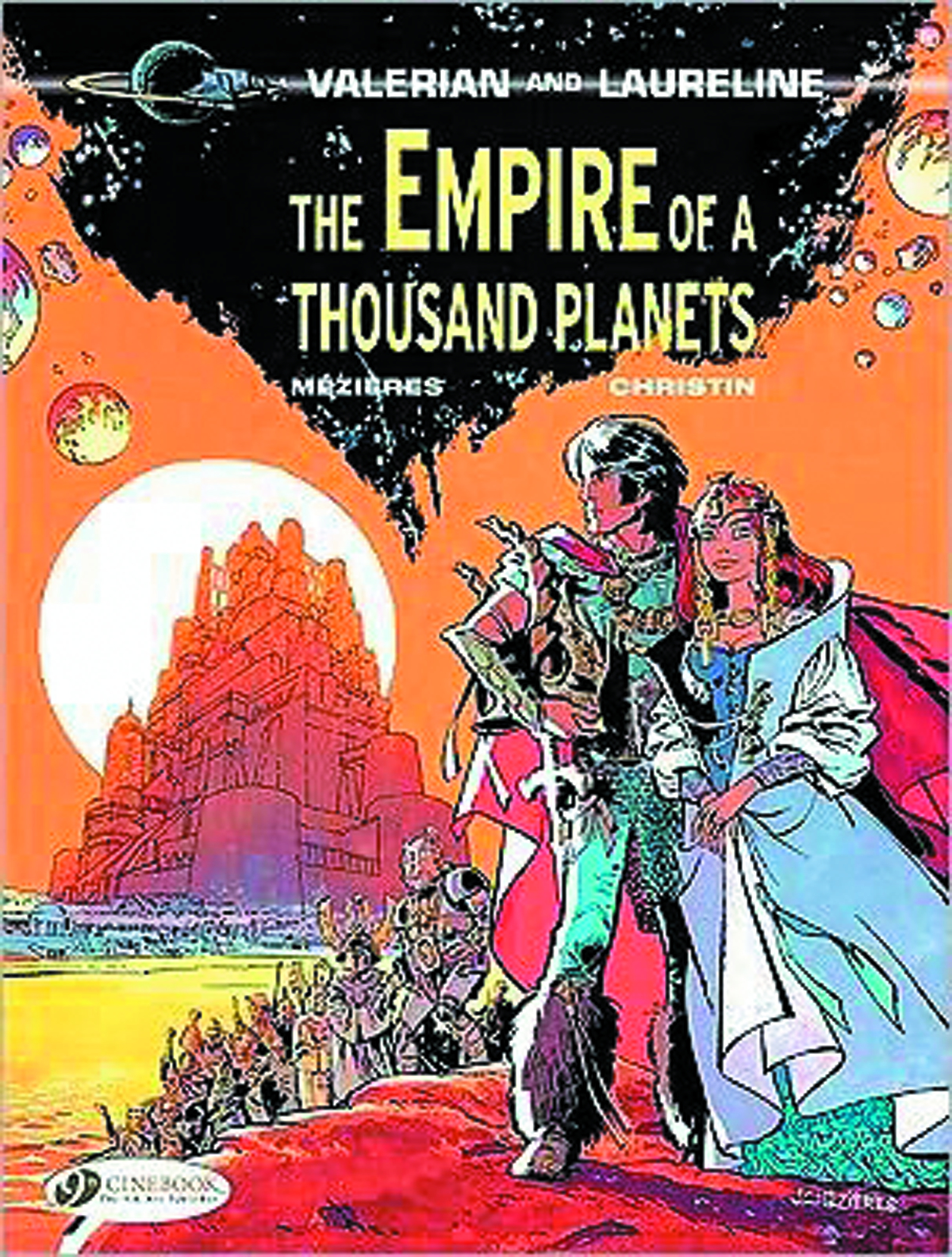 VALERIAN GN VOL 02 EMPIRE OF THOUSAND PLANETS