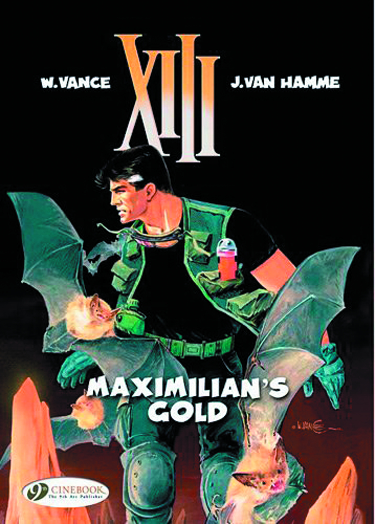 XIII CINEBOOK ED GN VOL 16 MAXIMILIANS GOLD