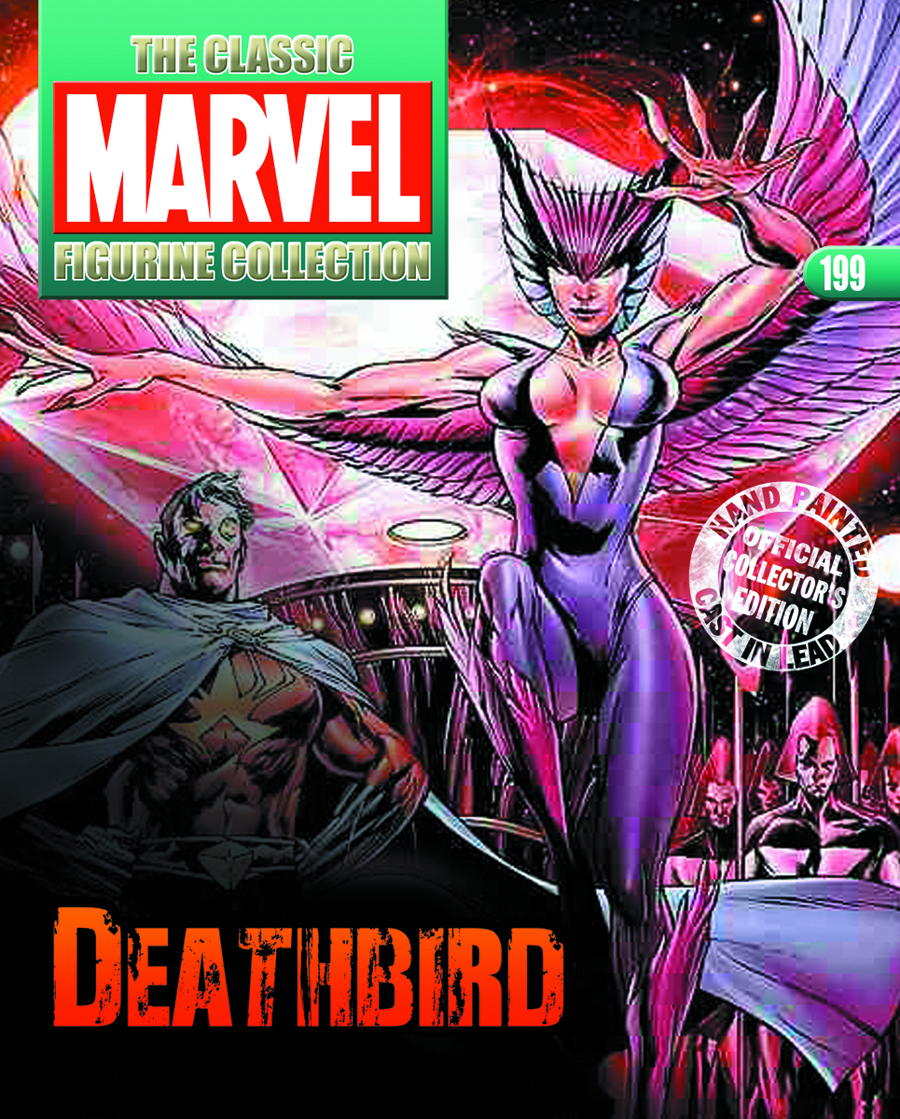 CLASSIC MARVEL FIG COLL MAG #199 DEATHBIRD