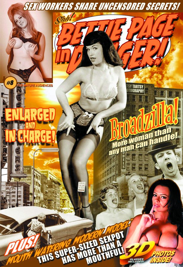 BETTIE PAGE IN DANGER #8