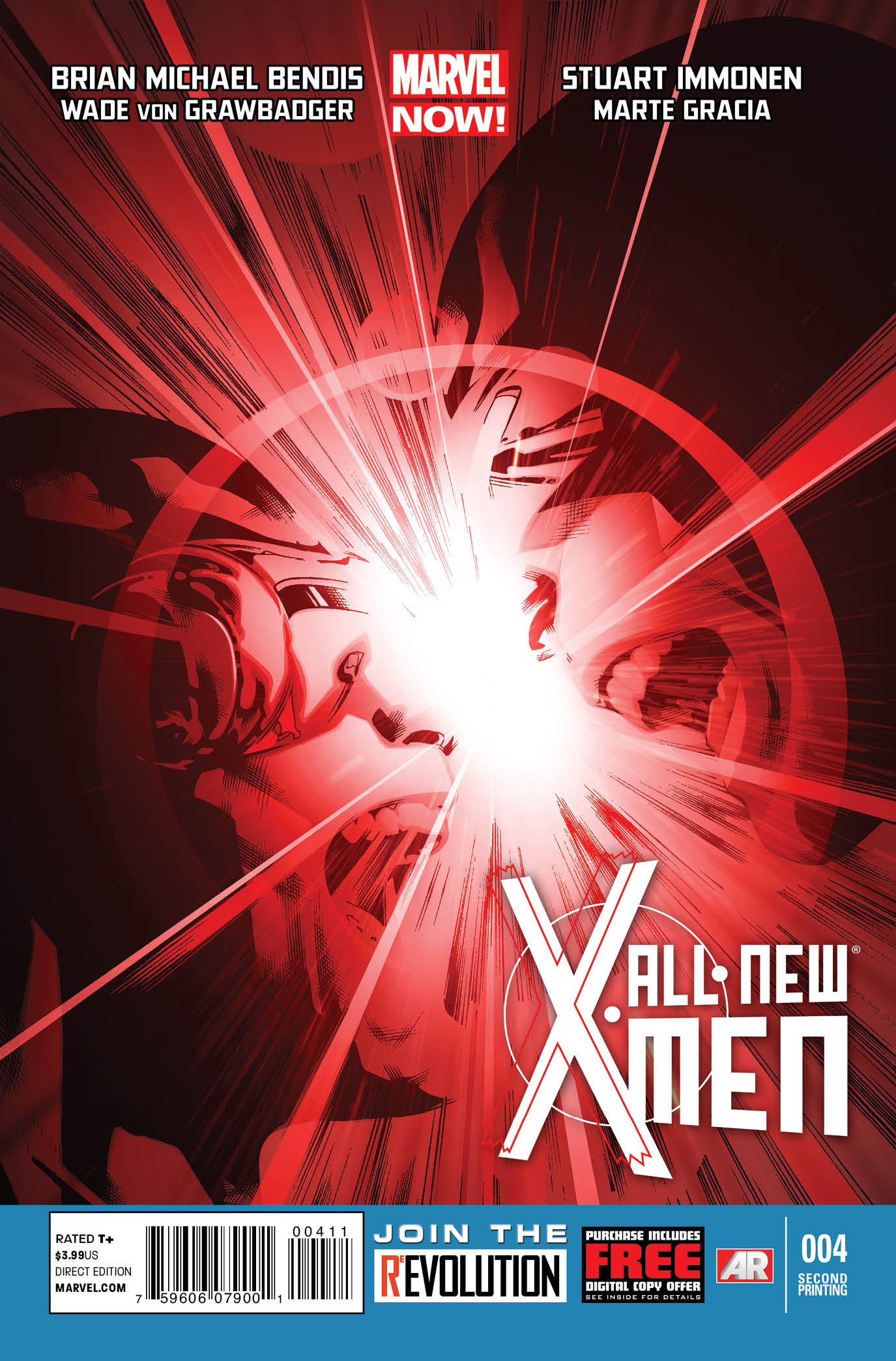 ALL NEW X-MEN #4 2ND PTG IMMONEN VAR NOW