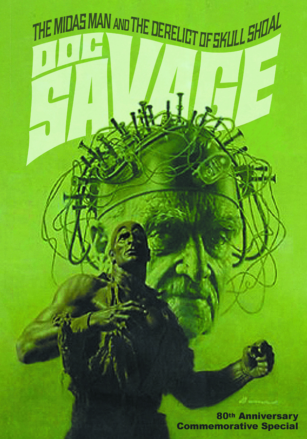DOC SAVAGE DOUBLE NOVEL VOL 66 BAMA CVR