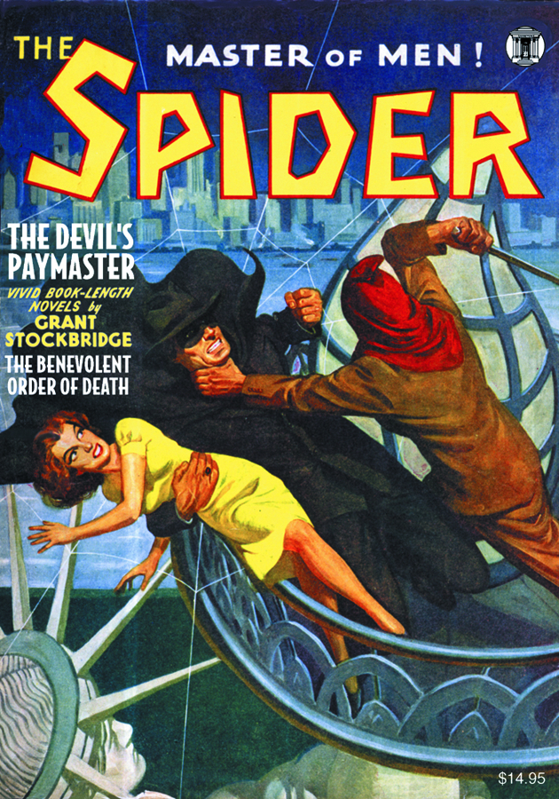 SPIDER DOUBLE NOVEL #2