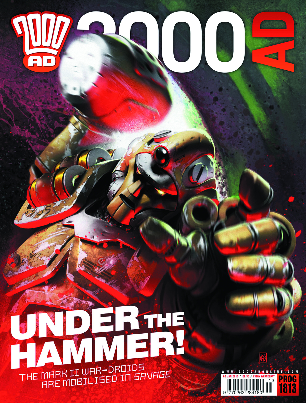 2000 AD PACK APR 2013