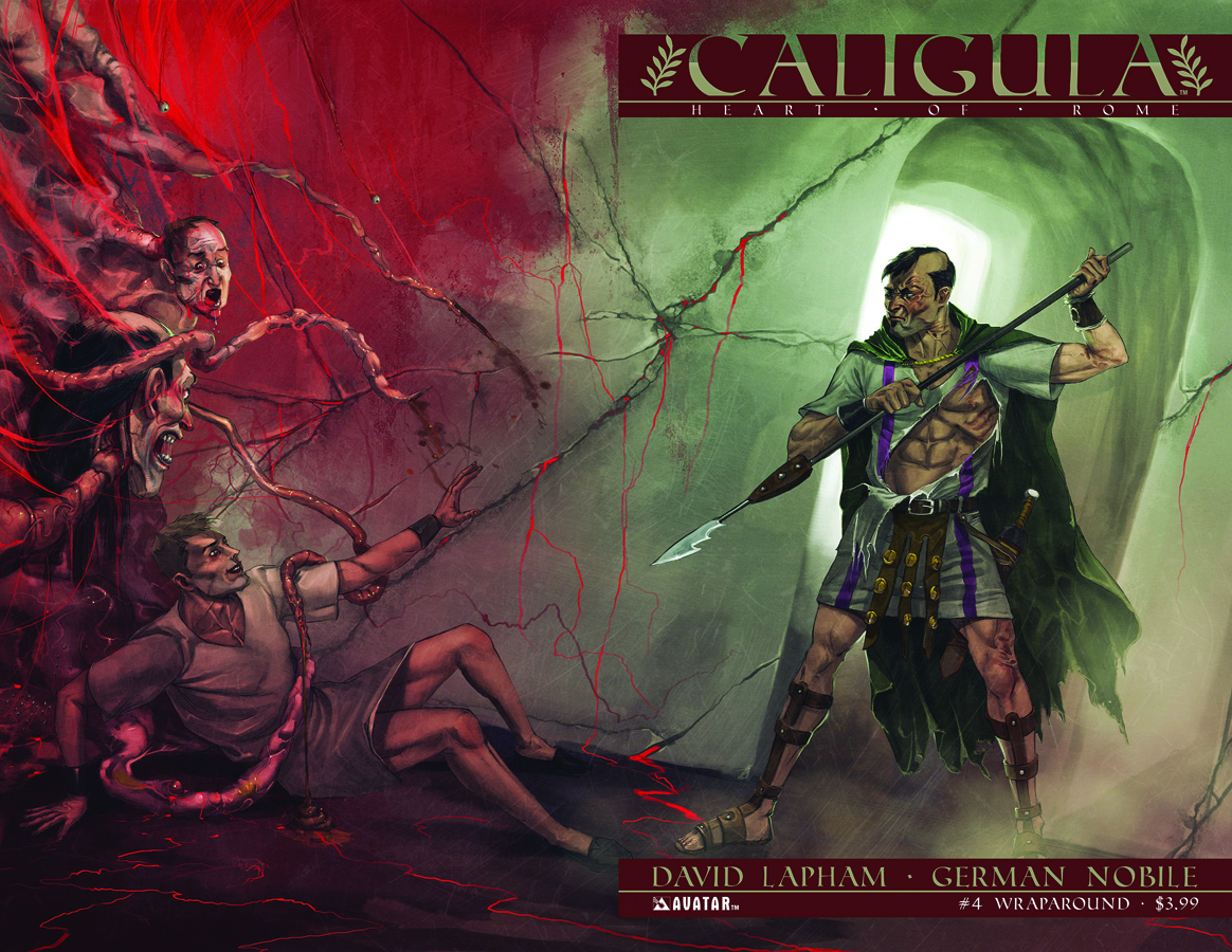 CALIGULA HEART OF ROME #4 (OF 6) WRAP CVR