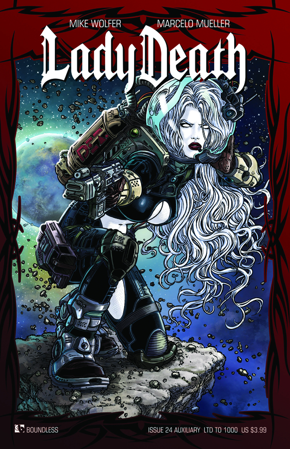 LADY DEATH (ONGOING) #24 AUXILIARY CVR (RES)