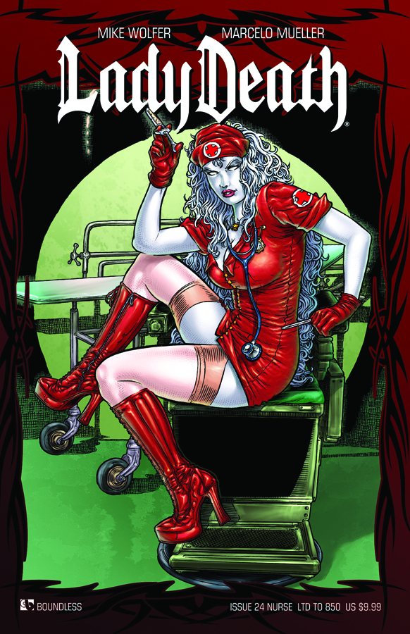 LADY DEATH (ONGOING) #24 NURSE CVR (RES)