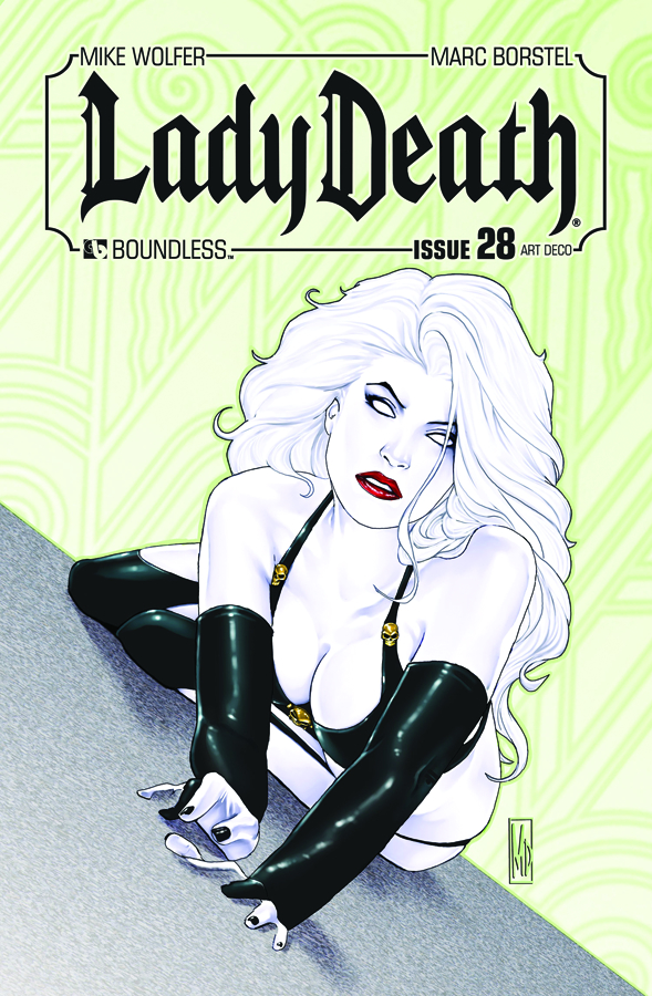 LADY DEATH (ONGOING) #28 ART DECO 3 COPY INCV