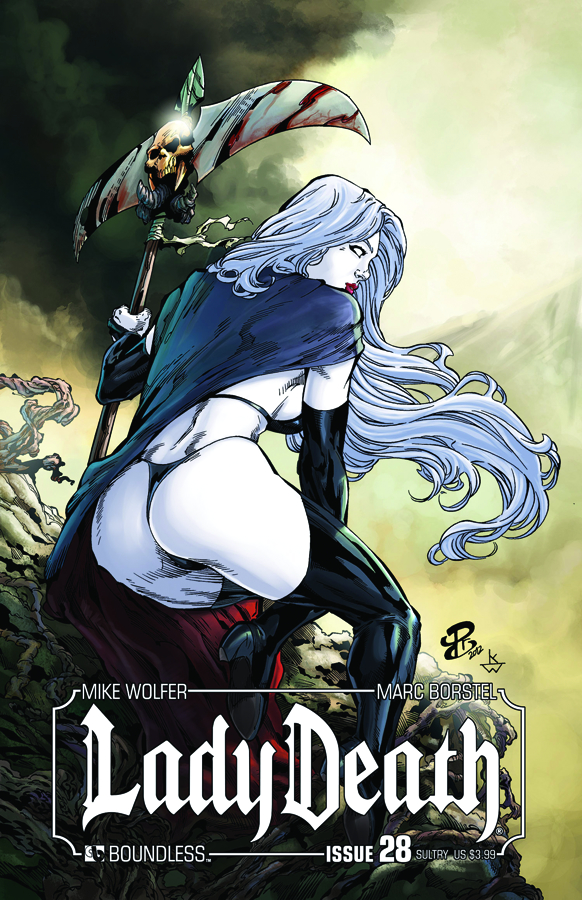 LADY DEATH (ONGOING) #28 SULTRY CVR