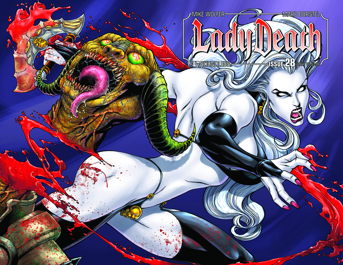 LADY DEATH (ONGOING) #28 WRAP CVR