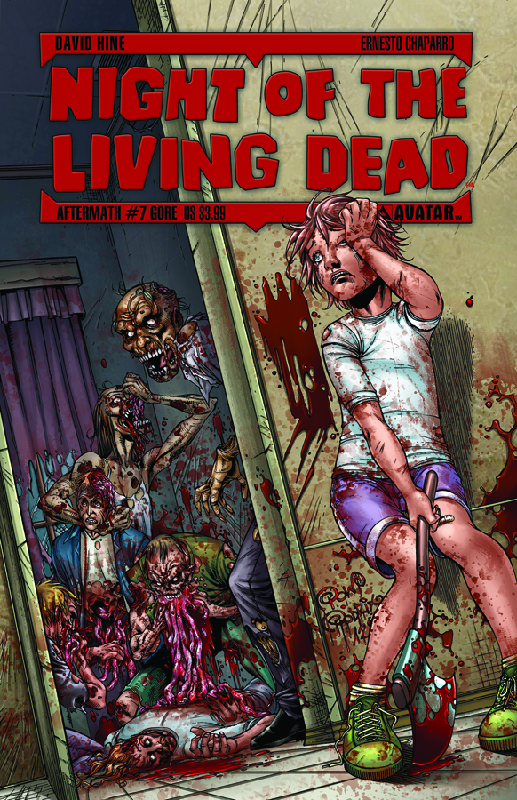 NIGHT O/T LIVING DEAD AFTERMATH #7 GORE CVR (MR)