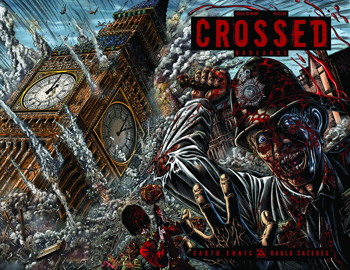 CROSSED BADLANDS #28 WRAP CVR