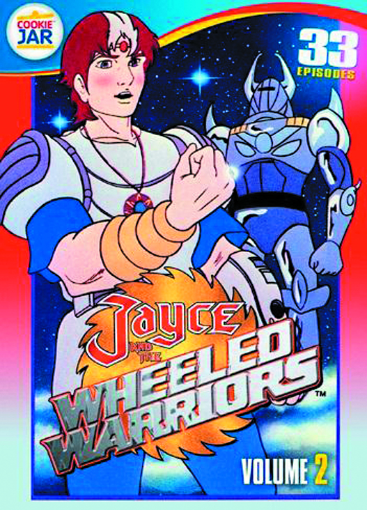 JAYCE AND THE WHEELED WARRIORS DVD VOL 02