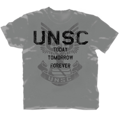 HALO 4 UNSC FOREVER PX CHARCOAL T/S MED