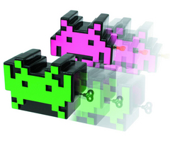 SPACE INVADERS WIND UP SET
