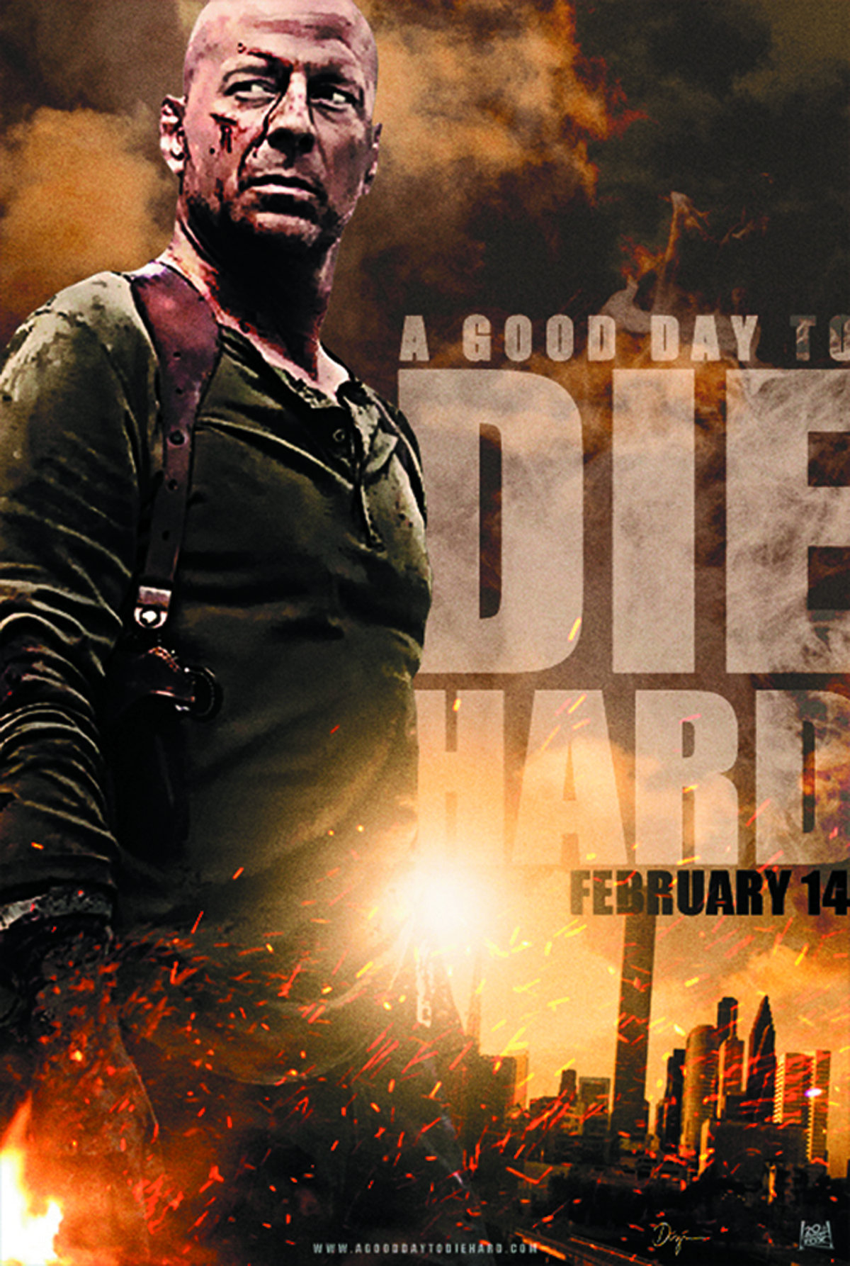 GOOD DAY TO DIE HARD DVD