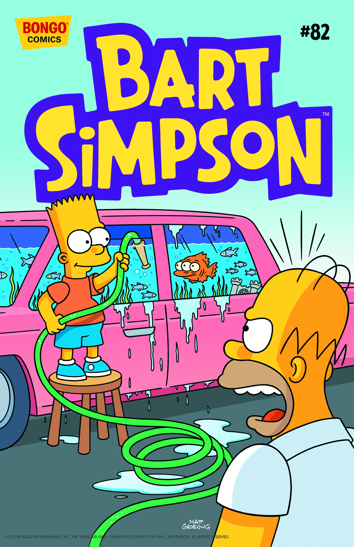 BART SIMPSON COMICS #82