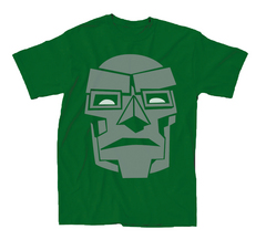 DOCTOR DOOM DOOM MASK SIMPLE PX KELLY T/S SM