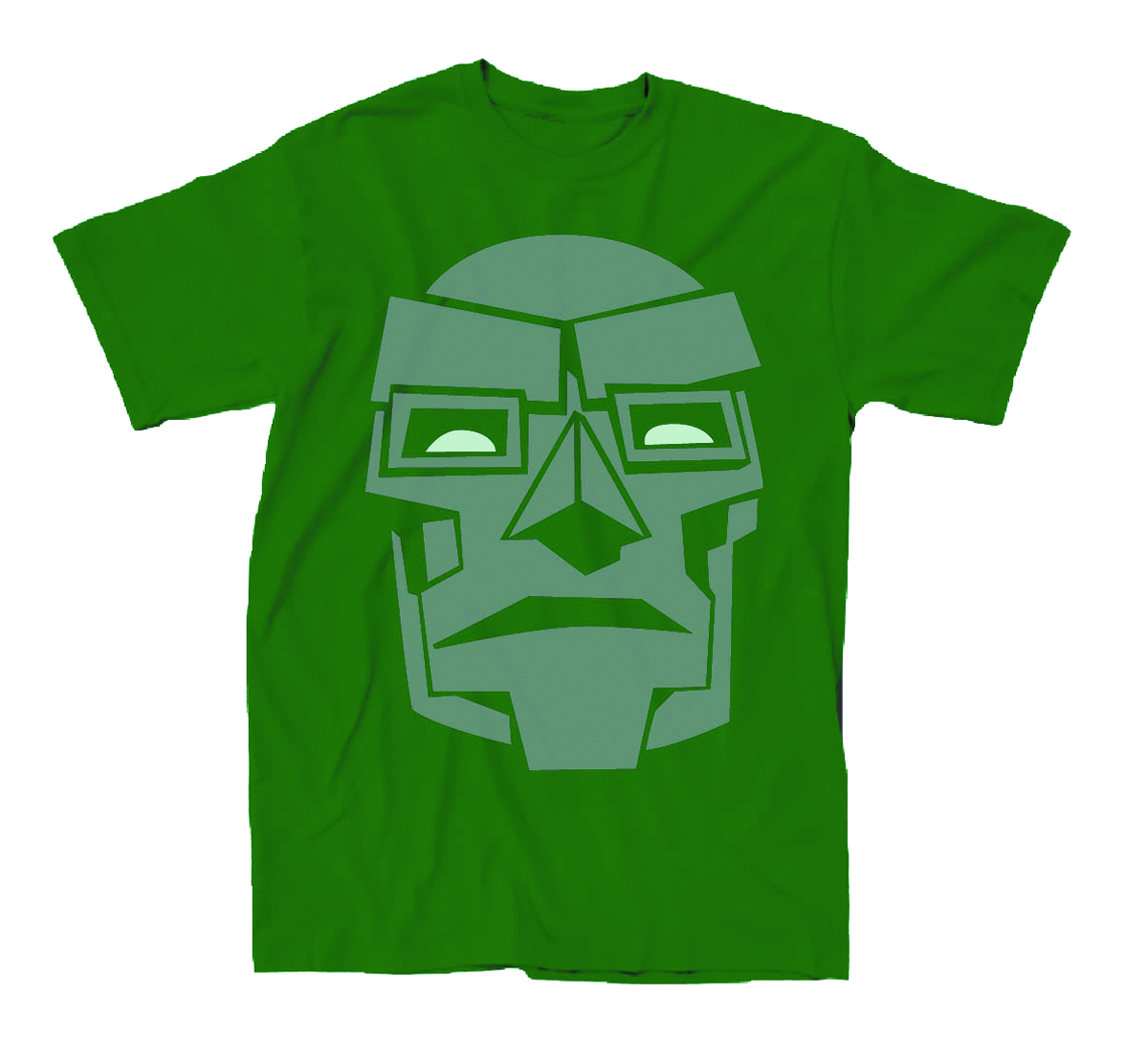 DOCTOR DOOM DOOM MASK SIMPLE PX KELLY T/S XXL