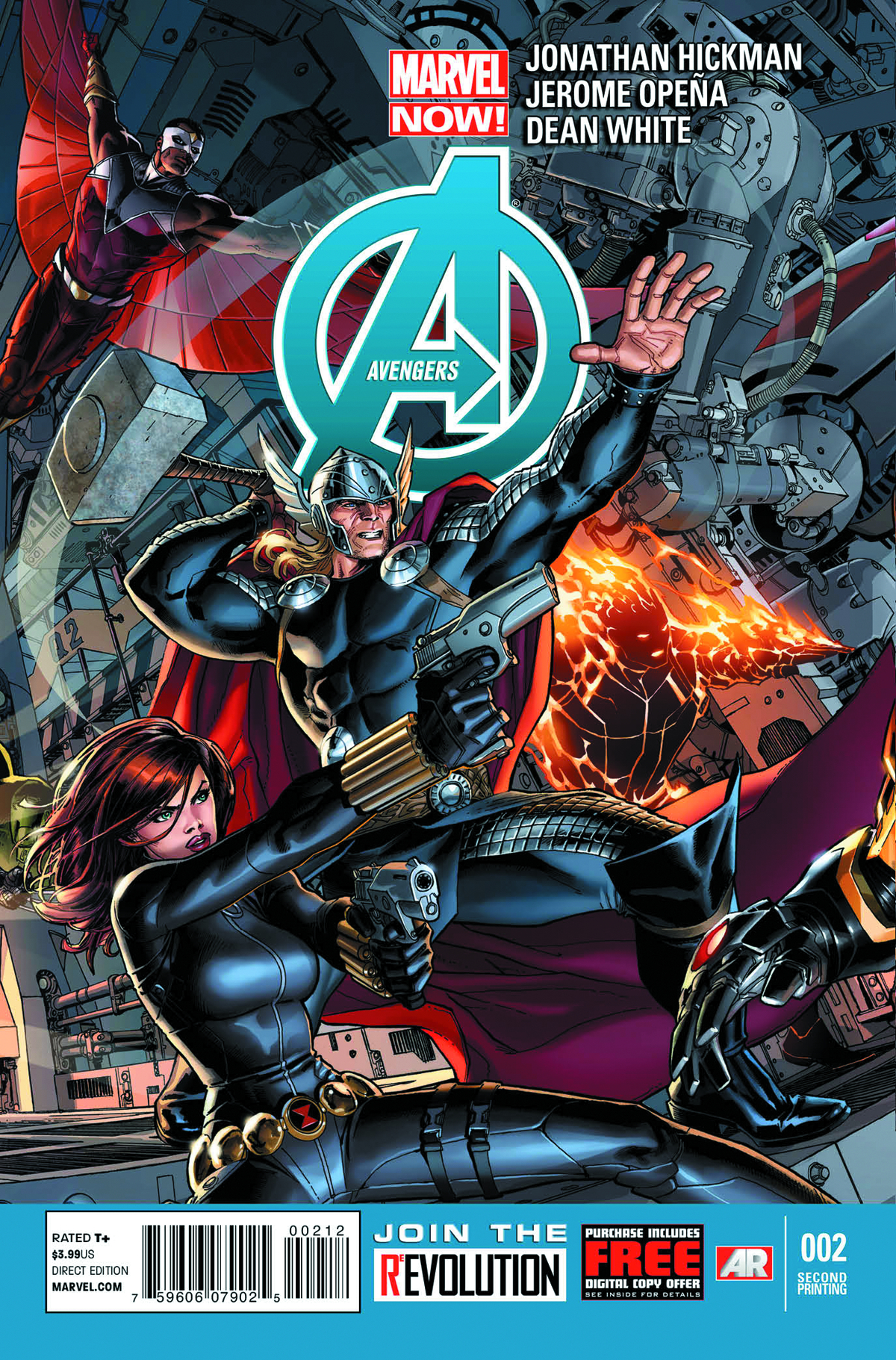 AVENGERS #2 2ND PTG WEAVER VAR NOW