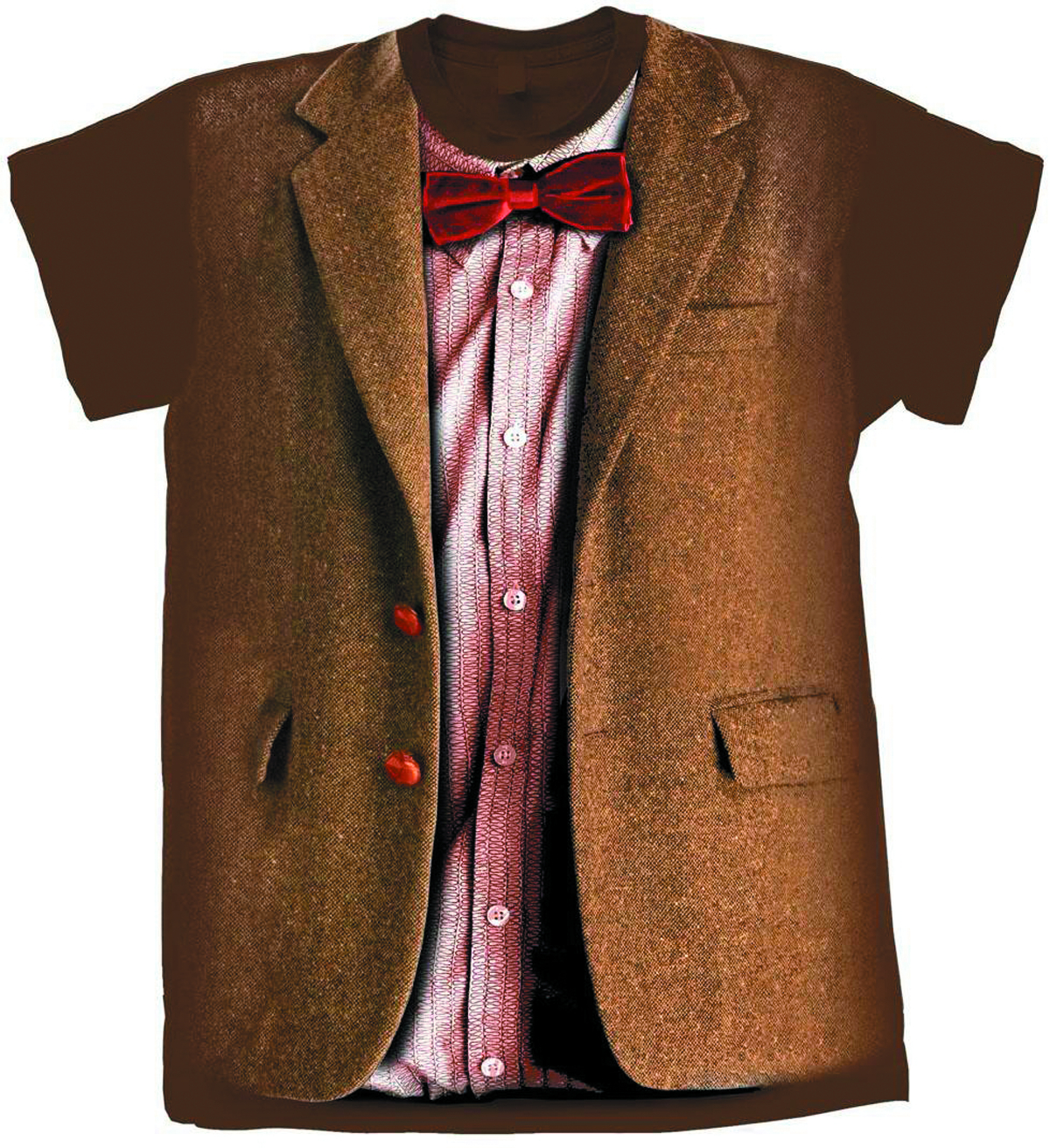 DOCTOR WHO ELEVENTH DOCTOR COSTUME T/S SM