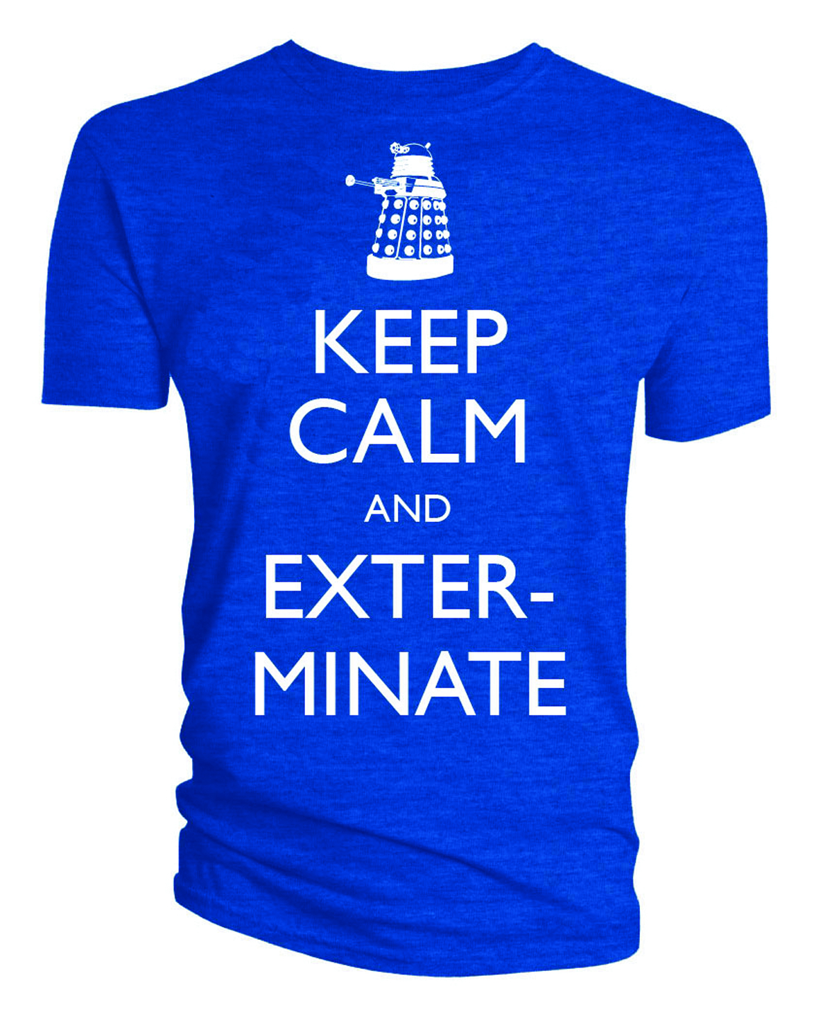DOCTOR WHO KEEP CALM AND EXTERMINATE T/S XL