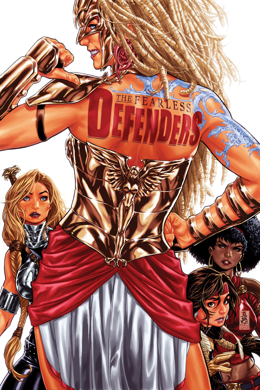 FEARLESS DEFENDERS #3 NOW