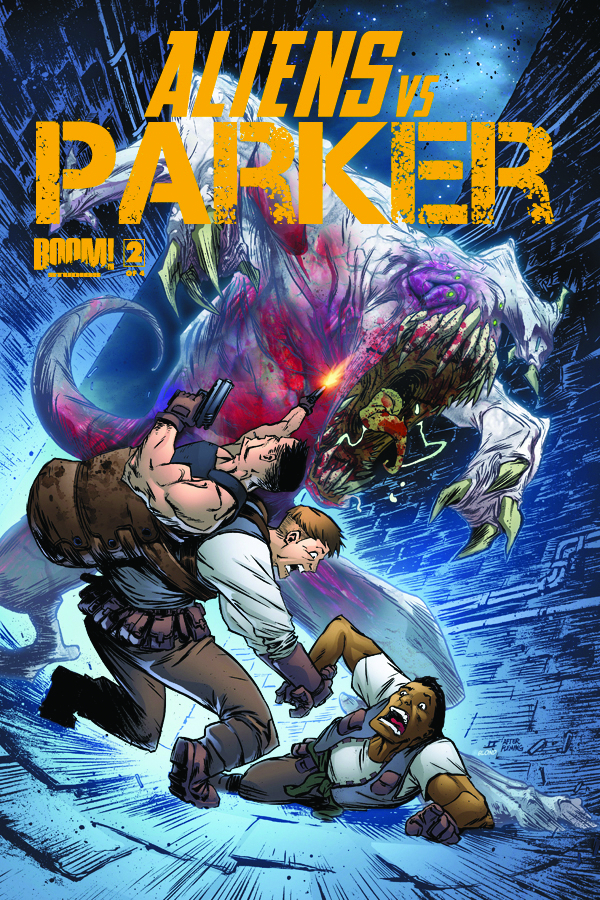 ALIENS VS PARKER #2 (OF 4)