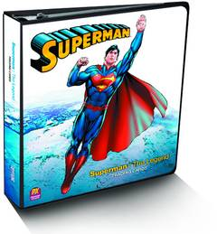 SUPERMAN THE LEGEND PX T/C BINDER
