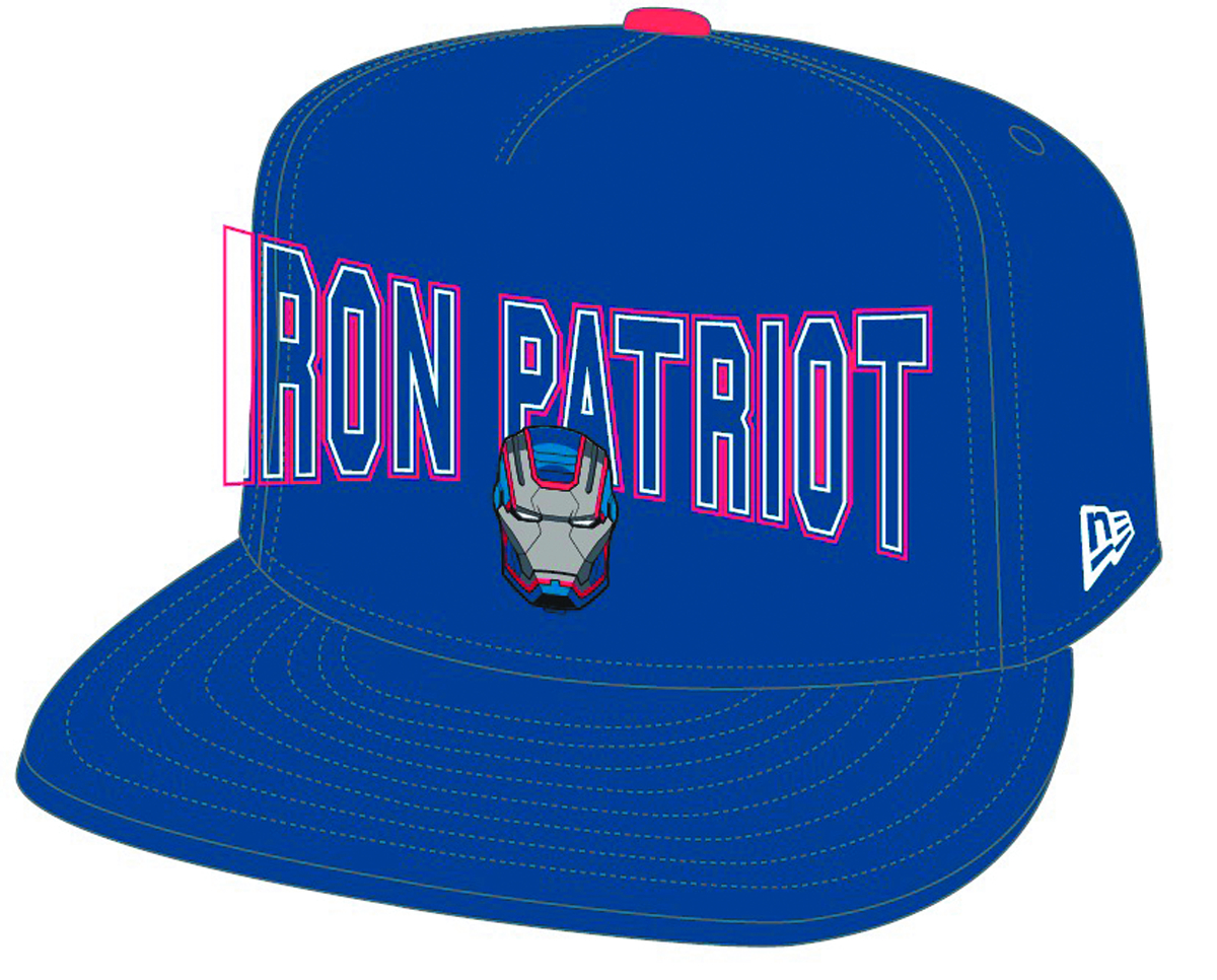 IRON MAN PATRIOT PX OFFICIAL SNAPBACK CAP