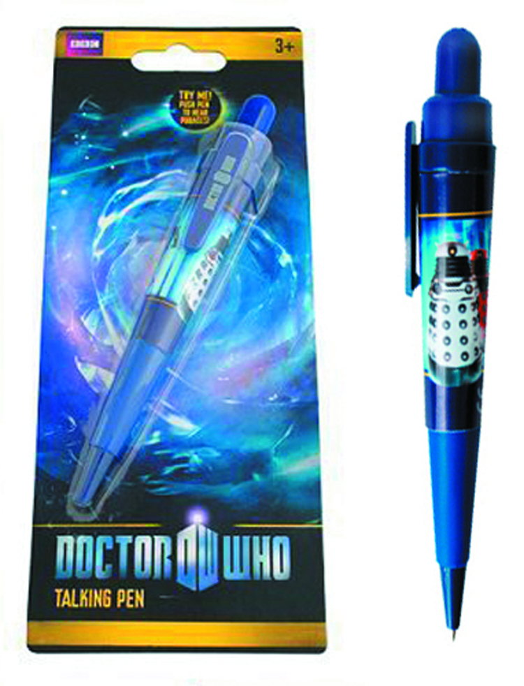 DOCTOR WHO DALEK/CYBERMAN TALKING PEN