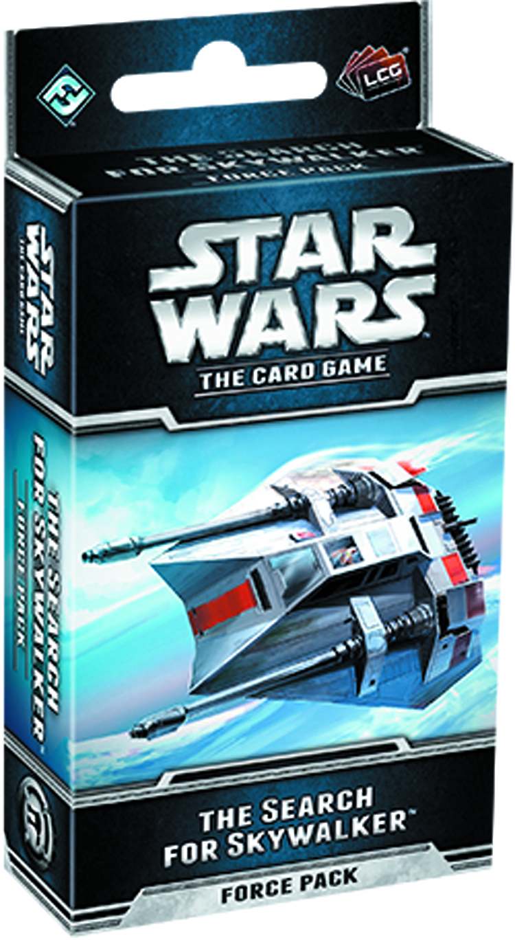 STAR WARS LCG SEARCH FOR SKYWALKER FORCE PACK