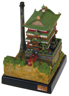 SPIRITED AWAY BATH HOUSE DIORAMA