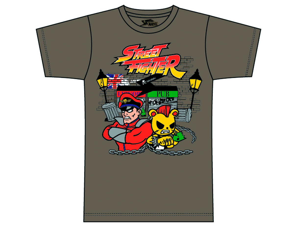 STREET FIGHTER X TOKIDOKI M BISON T/S XL