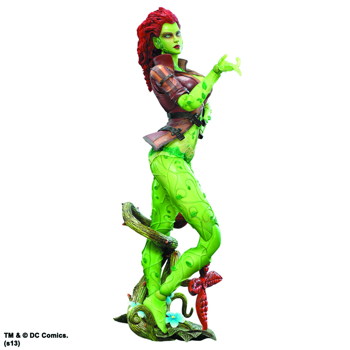 BATMAN ARKHAM CITY PLAY ARTS KAI POISON IVY AF