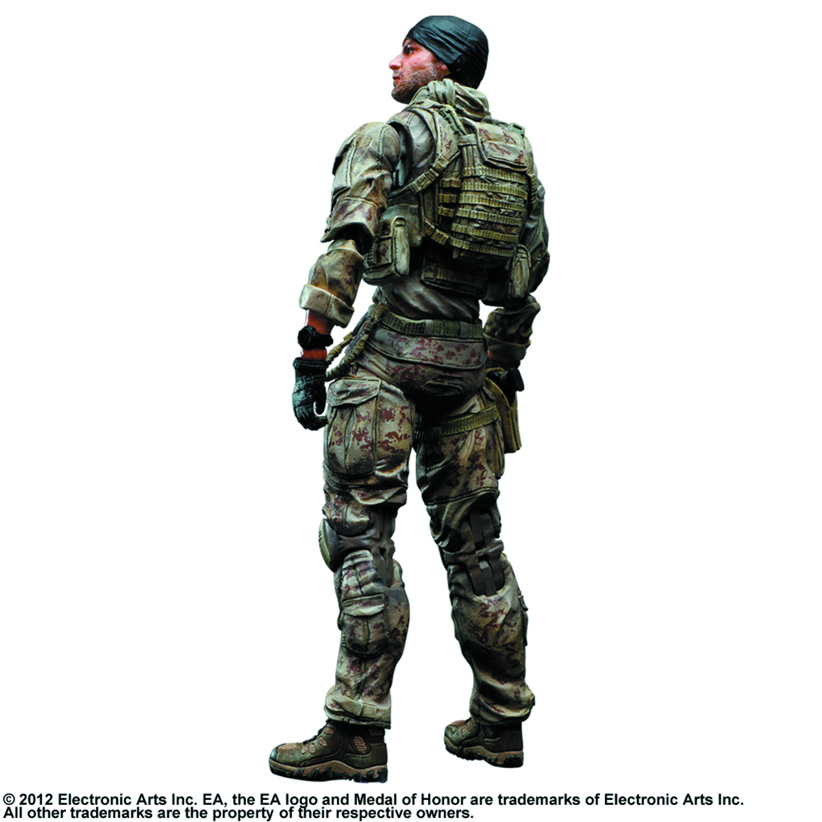 MEDAL OF HONOR WARFIGHTER PLAY ARTS KAI PREACHER AF