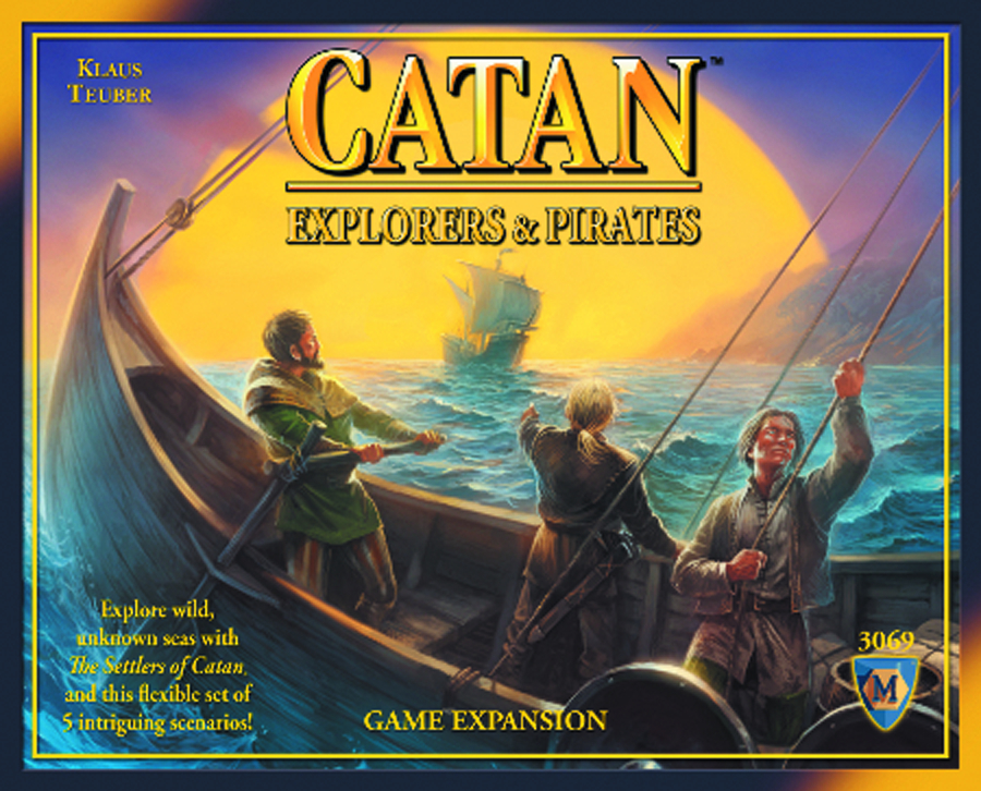 SETTLERS OF CATAN EXPLORERS & PIRATES EXP