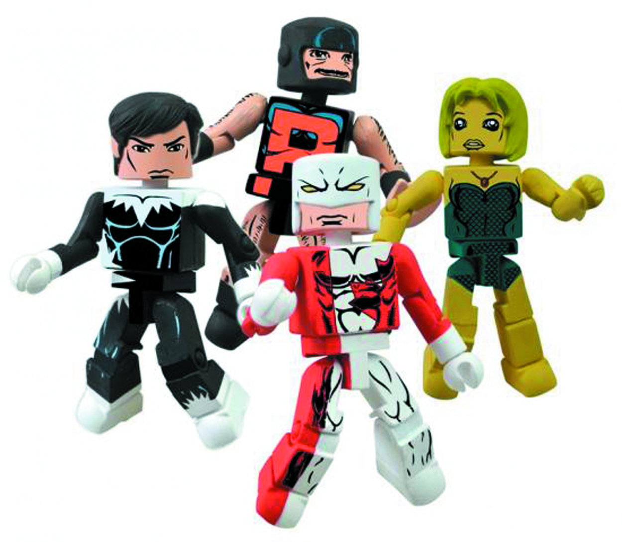 MARVEL MINIMATES ALPHA FLIGHT SER 1 BOX SET