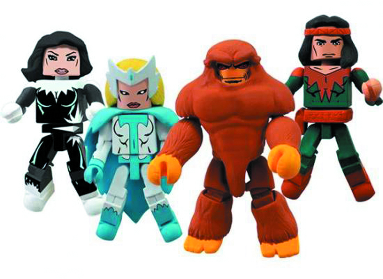 MARVEL MINIMATES ALPHA FLIGHT SER 2 BOX SET