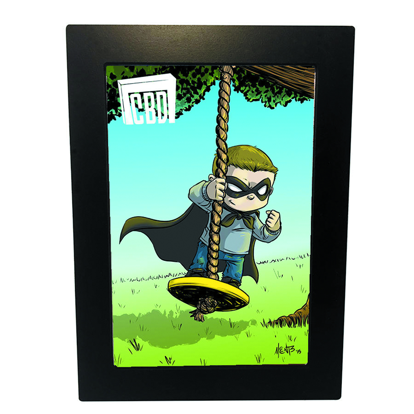 COMIC BOOK DISPLAY GRADED DISPLAY FRAME ASST